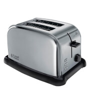Russell Hobbs 22360 2 Slice Wide Slot Toaster - Stainless Steel