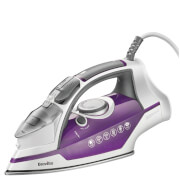 Breville VIN348 Power Steam Sure Fill Iron - Purple