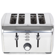 Breville VTT431 Stainless Steel 4 Slice Toaster - Stainless Steel