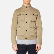 Michael Kors Men's Garment Dyed 4 Pocket Bomber Jacket - Khaki