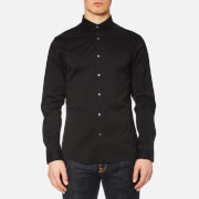 Michael Kors Men's Slim Cotton/Nylon Stretch Shirt - Black