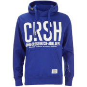 Sweat à Capuche Homme Birchtree Logo Crosshatch - Bleu