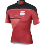 Sportful Gruppetto Pro LTD Short Sleeve Jersey - Red/Black