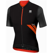 Sportful R&D Ultraskin Short Sleeve Jersey - Black/Red