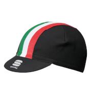 Sportful Italia Cap - Black/Tricolore