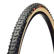 Challenge Grifo Tubular Cyclocross Tyre - Black/Tan - 700c x 33mm