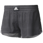 adidas Women's 2-in-1 Mesh Shorts - Black