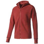 adidas Men's ZNE Hoody - Mystery Red