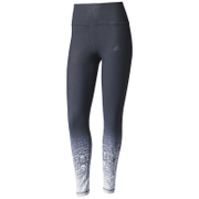 adidas Women's Miracle Sculpt Tights - Black/Print