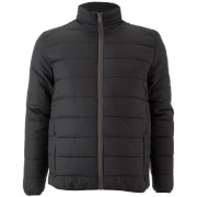 Brave Soul Men's Moritz Padded Jacket - Black