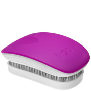 ikoo Pocket Hair Brush - White - Sugar Plum