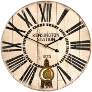 Fifty Five South Wall Clock - Vintage Finish