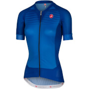 Castelli Women's Aero Race Jersey - Surf Blue/Matte Blue