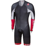 Castelli Body Paint 3.3 Long Sleeve Speed Suit - Black/White