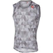 Castelli Pro Mesh Sleeveless Base Layer - Multicolour Grey
