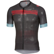 Castelli Climbers 2.0 Jersey - Anthracite/Red