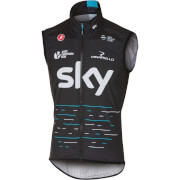 Team Sky Pro Light Wind Gilet - Black