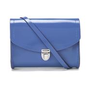 The Cambridge Satchel Company Women's Push Lock Bag - Patent Dusk Blue