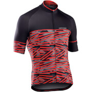 Northwave Point Break Jersey - Black/Red