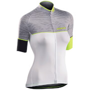 Northwave Verve 2 Women's Jersey - White/Yellow