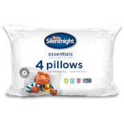 Silentnight Hollowfibre Pillow - 4 Pack