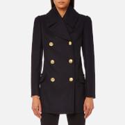 Vivienne Westwood Anglomania Women's Mosto Coat - Blue/Black