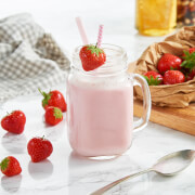 Meal Replacement Strawberry Shake