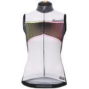 Santini Women's Stella Sleeveless Jersey - White