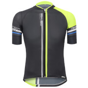 Santini Airform 2.0 Jersey - Black/Yellow