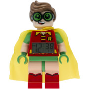 THE LEGO® BATMAN MOVIE Robin™ Minifiguren-Uhr mit Wecker