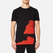 HUGO Men's Dariano Printed T-Shirt - Black