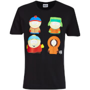 South Park Men's Character T-Shirt - Black