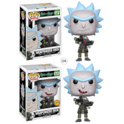Figurine Pop! Rick Armé - Rick et Morty