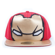 Marvel Captain America: Civil War Iron Man Big Face Snapback Cap