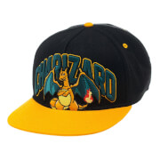 Pokémon Charizard Snapback Cap - Black/Yellow