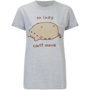 T-shirt Femme Pusheen So Lazy - Gris