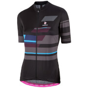 Nalini Women's Dolomiti Short Sleeve Jersey - Black/Grey