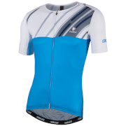 Nalini Roma Race Short Sleeve Jersey - Blue/White