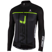 Nalini Speed Long Sleeve Jersey - Black/Green