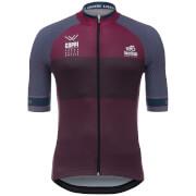 Santini Giro d'Italia 2017 Stage 16 Rovetta - Bormio Jersey - Dark Red
