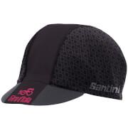Santini Giro d'Italia 2017 Maglia Nero Race Cap - Black