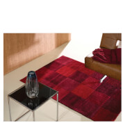 Flair Infinite Inspire Rug - Squared Red