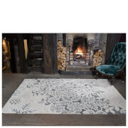 Flair Textures Gold Rug - Loxley White/Grey