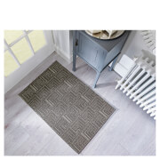 Flair Skyline Pinnacle Rug - Dark Brown