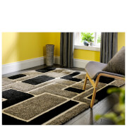 Flair Venice Imperial Rug - Grey/Black