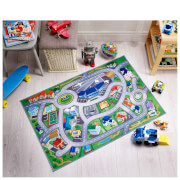Flair Non-Slip Playmat - City Airport Map Multi (75X112)