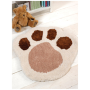 Flair Nursery Puppy Rug - Paw Natural (75X80)