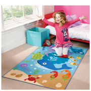 Tapis Matrix Flair Rugs - Sous l'Océan (100X160)