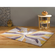 Flair Infinite Splinter Rug - Ochre (200X290)