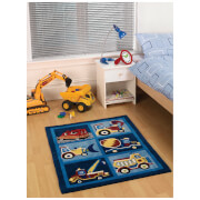 Flair Kiddy Play Rug - Trucks Boy (80X100)